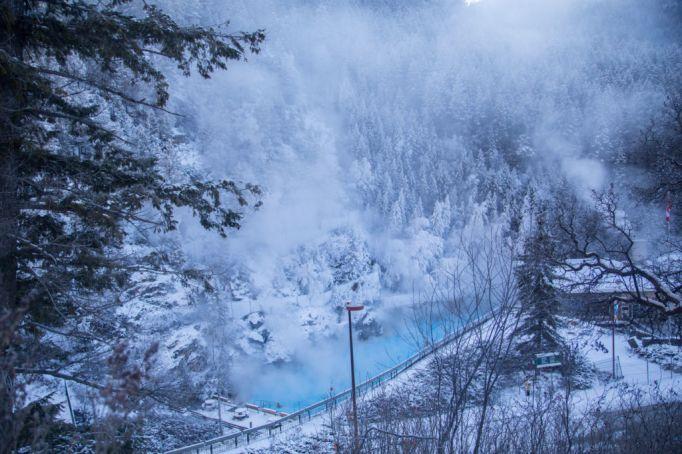 Radium Hot Springs Pools