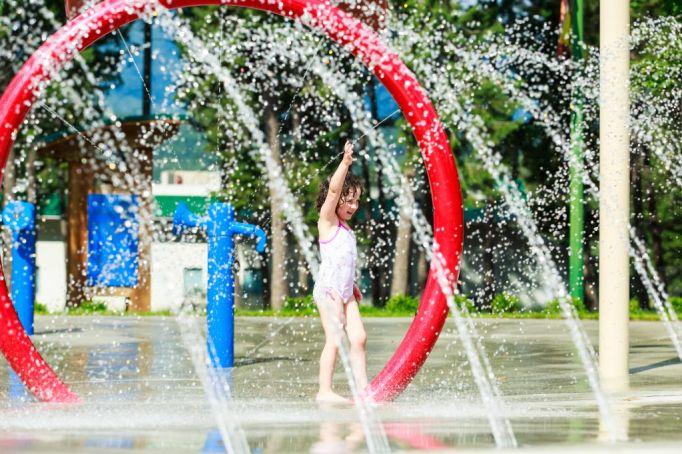 Gushers Spray Park