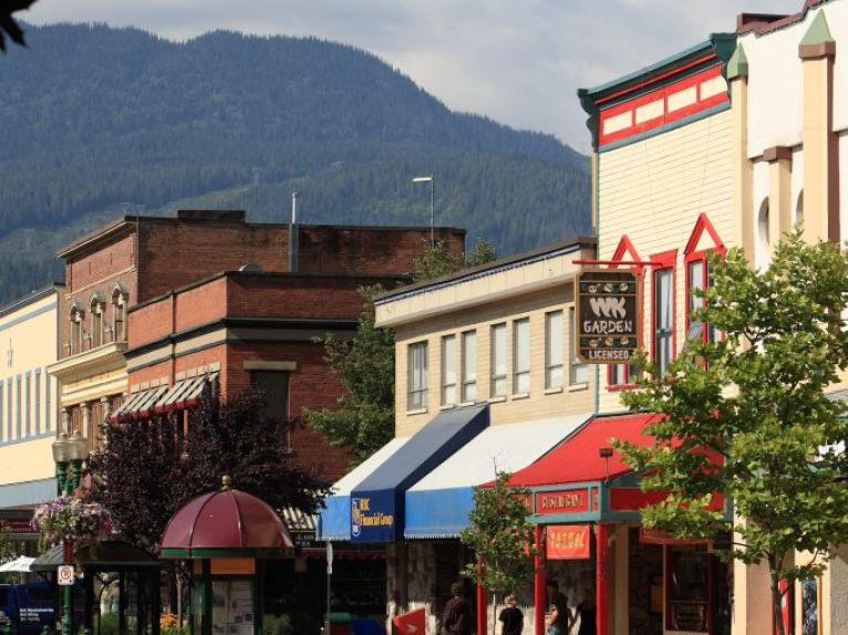 Downtown Revelstoke