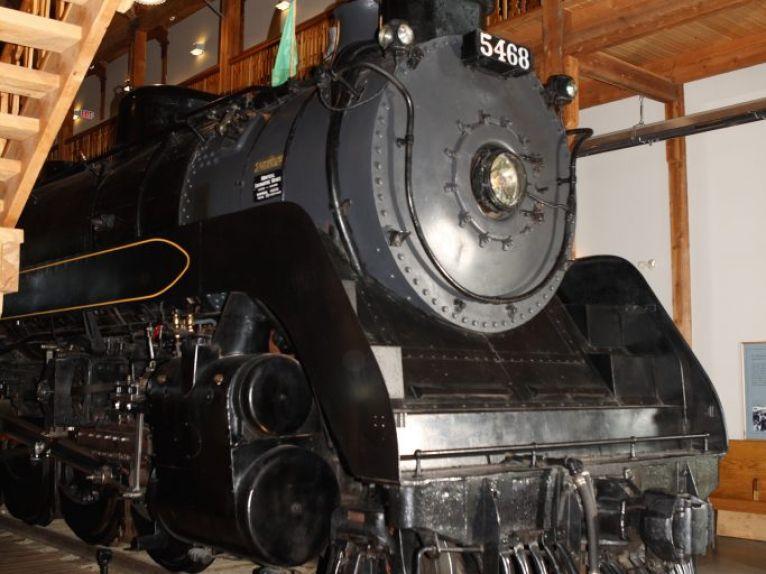 CPR Locomotive #5468