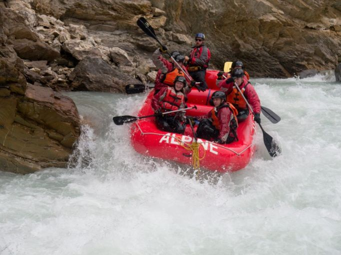 Alpine Rafting