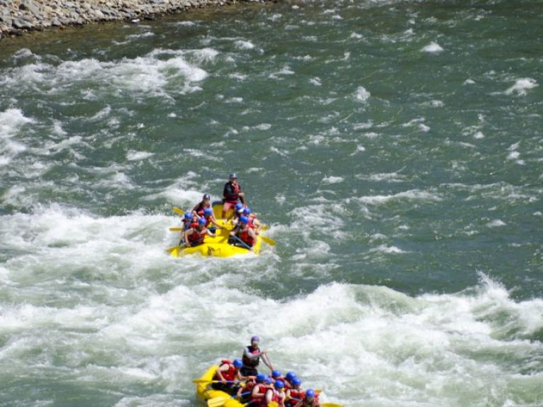 Rafting the Mary