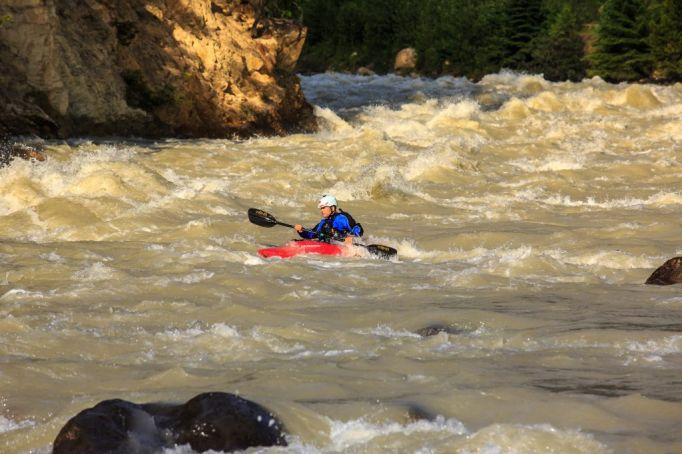Kayaking
