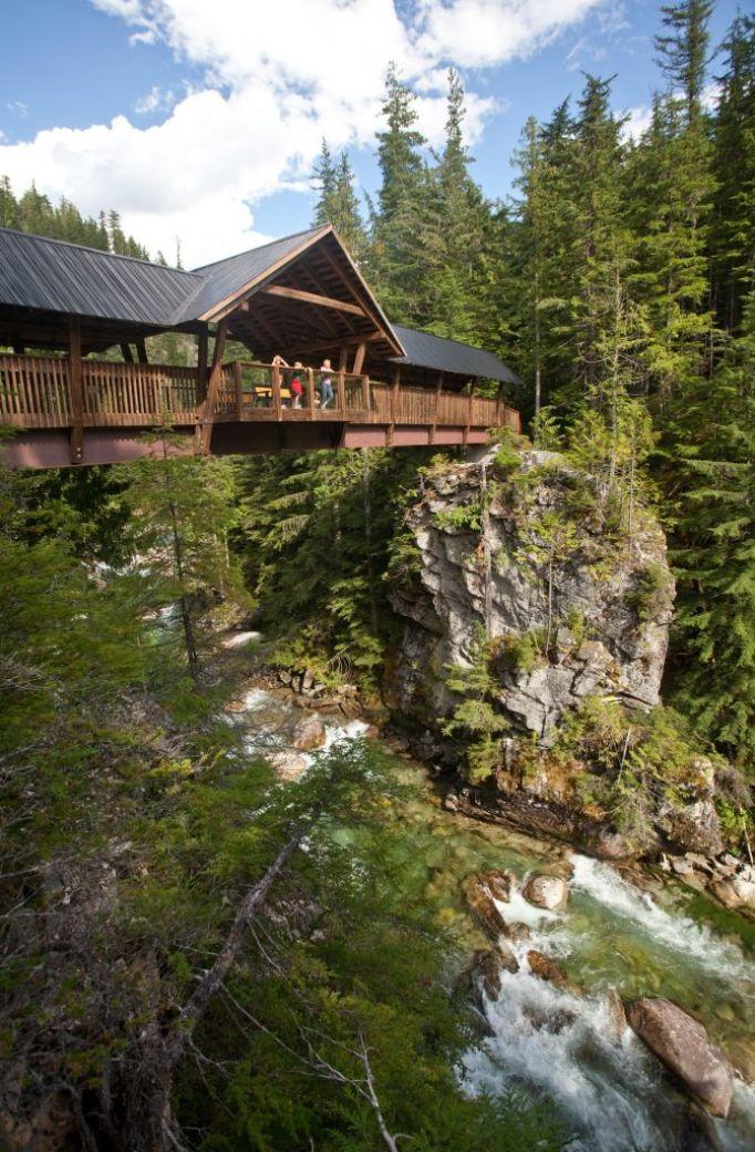 Kuskanax Creek Footbridge