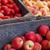 Fruit in crates