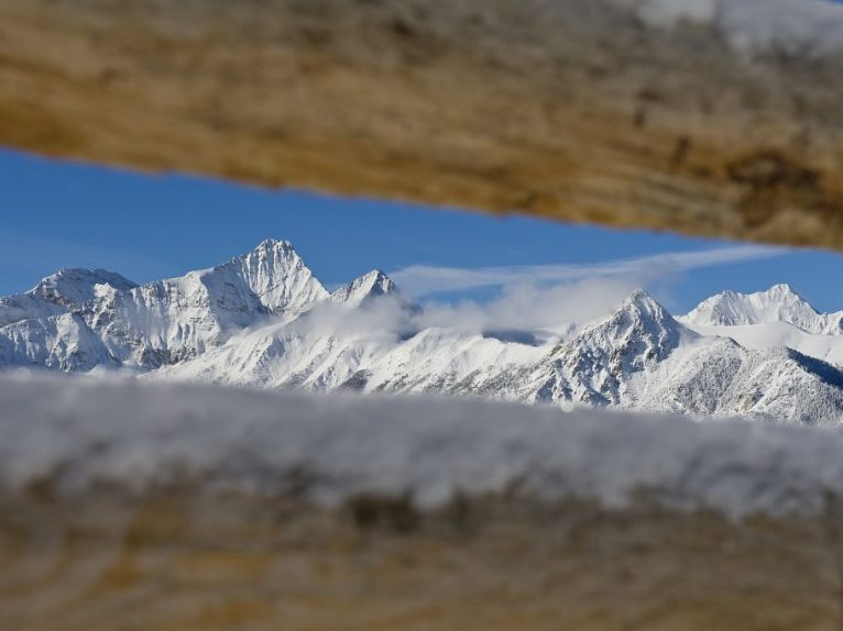 Snowcapped peaks