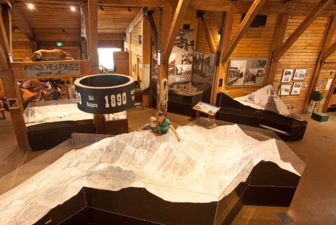ROGERS PASS DISCOVERY CENTRE