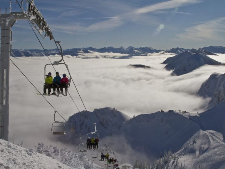 Lift-accessed Skiing
