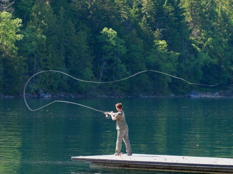 FLY-FISHING KOOTENAY RIVER